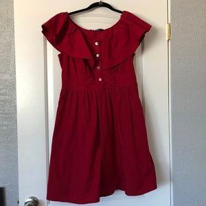NWT Red eShakti Dress